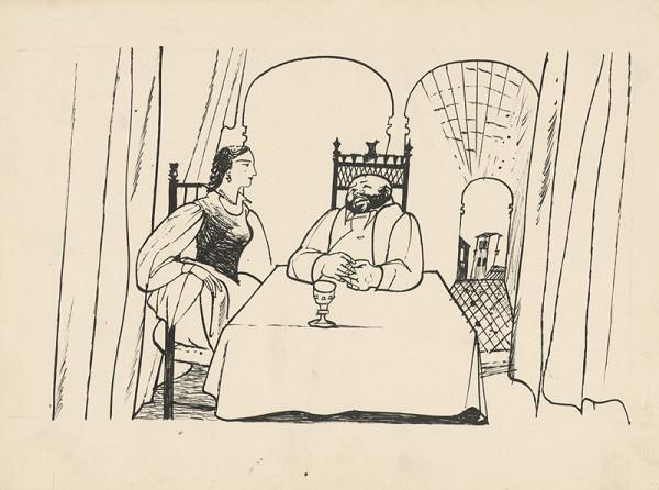 Vincent Hložník – Sancho Panza na návšteve u dámy