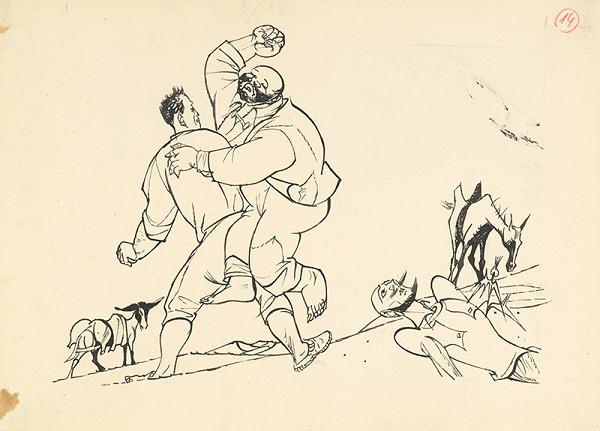 Vincent Hložník – Sancho Panza bráni svojho pána