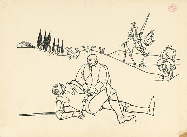 Vincent Hložník – Víťazný súboj Dona Quijota