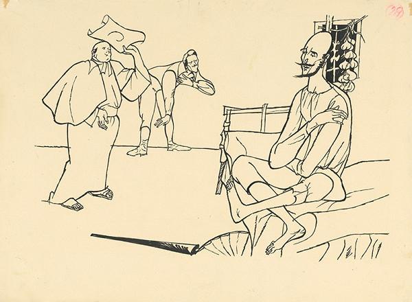 Vincent Hložník – Pútnik na návšteve u Dona Quijota
