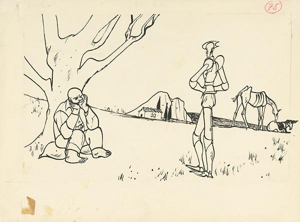 Vincent Hložník – Pod stromom