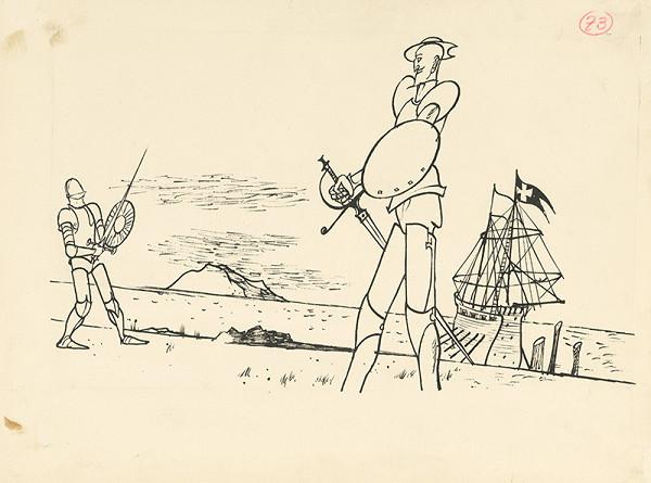 Vincent Hložník - Súboj na morskom pobreží