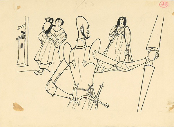 Vincent Hložník - Don Quijot pred dámou