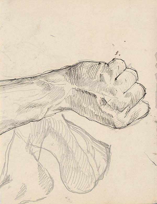 Ladislav Mednyánszky – Štúdia ruky