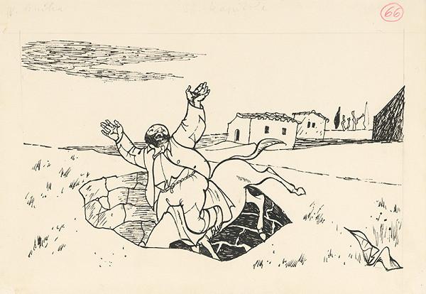 Vincent Hložník – Sancho Panza padá do studne