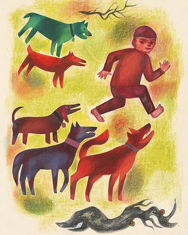 Viera Gergeľová - Zlí psi