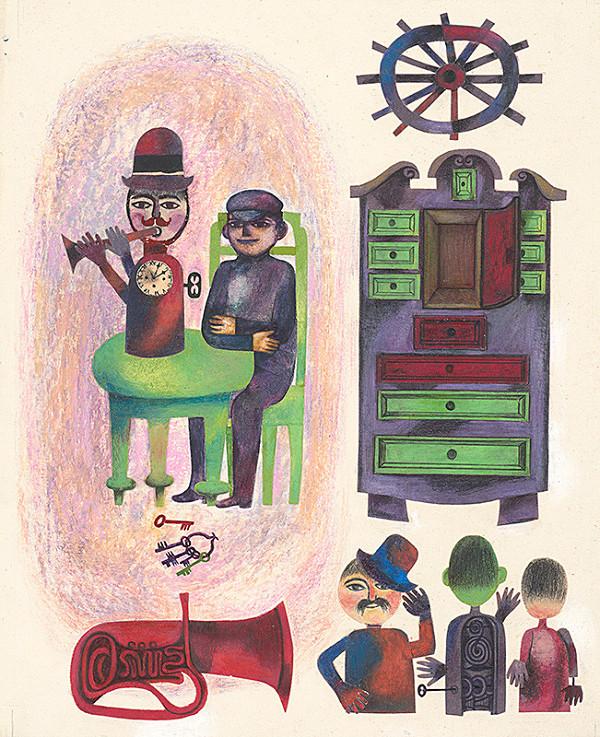 Viera Gergeľová – Hrací stroj