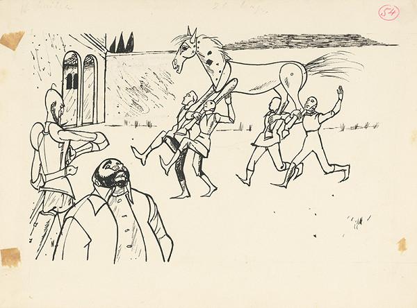 Vincent Hložník - Drevený kôň