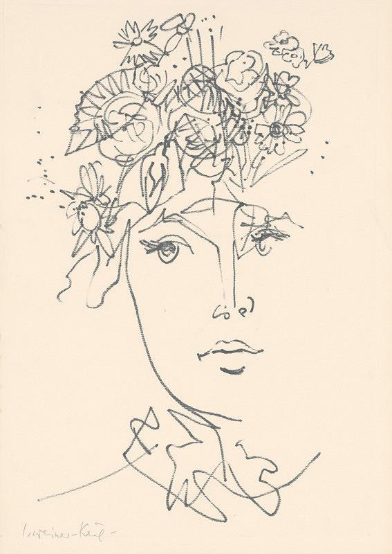 Imrich Weiner-Kráľ - Portrét ženy
