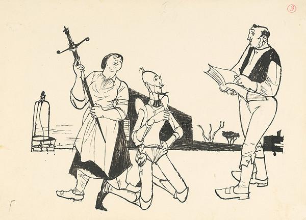 Vincent Hložník - Don Quijote počúva rozsudok
