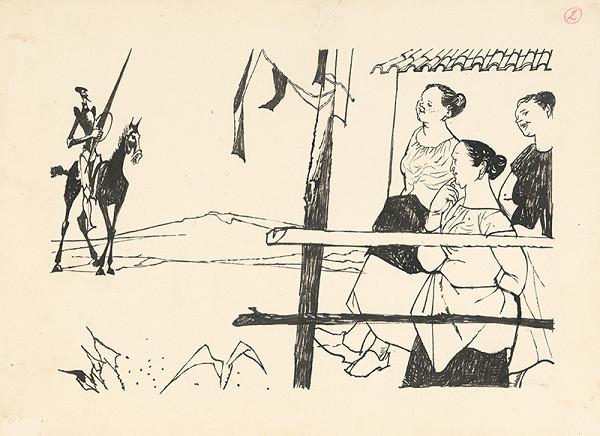 Vincent Hložník – Don Quijote prichádza do dediny