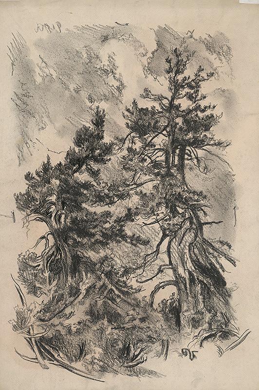 Jaroslav Vodrážka – Stromy vo vetre