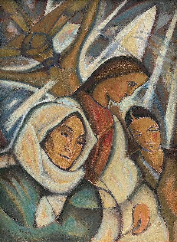 Janko Alexy - V kostole