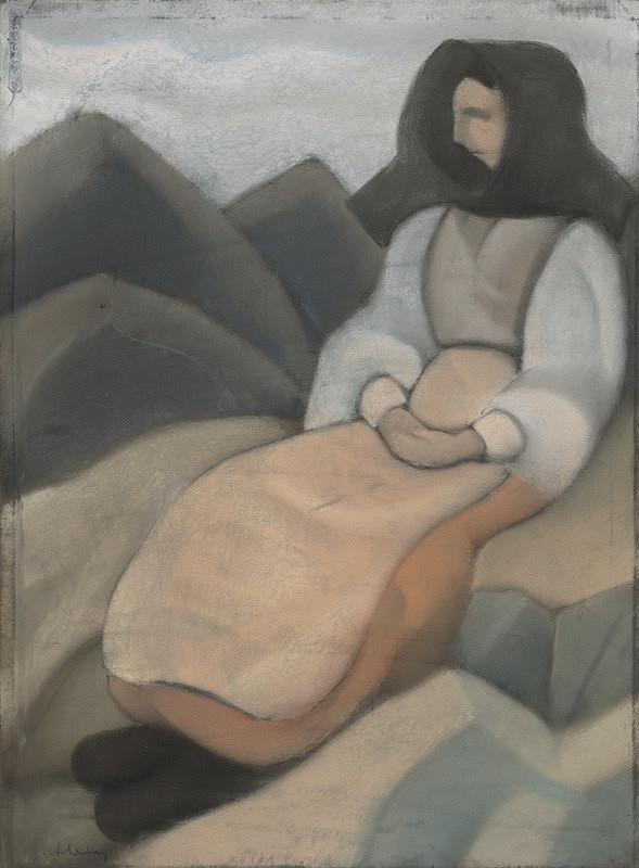 Janko Alexy - Žena z Heľpy
