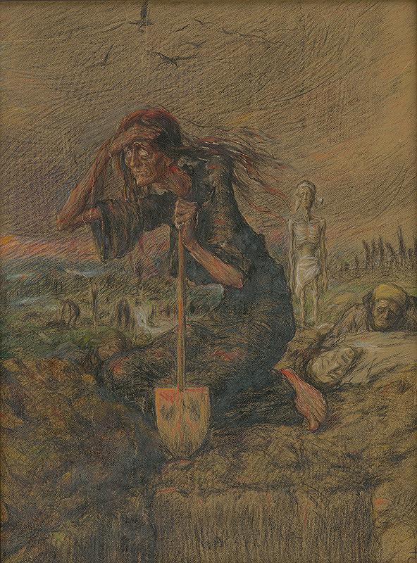 Karol Miloslav Lehotský – Hrôzy vojny