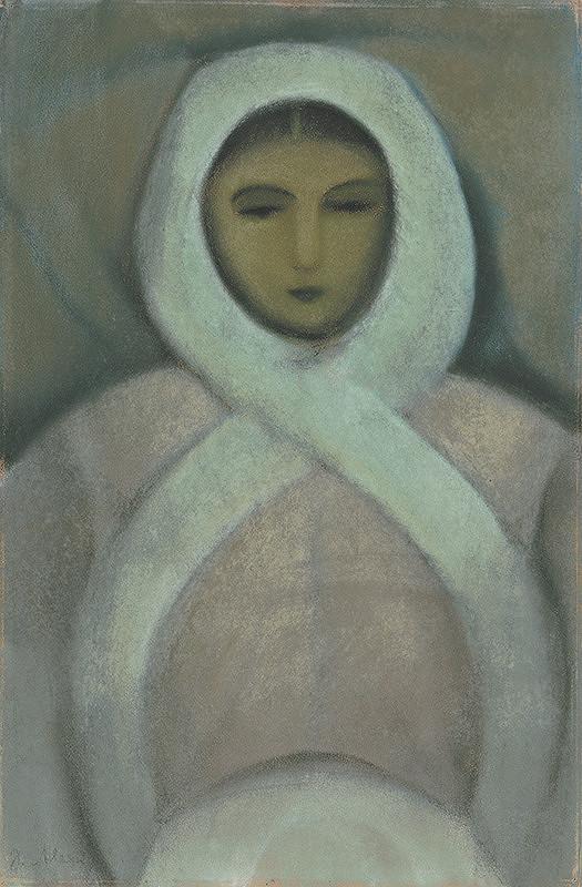 Janko Alexy - Sediaca žena