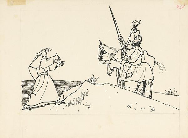 Vincent Hložník - Prelát víta Dona Quijota a jeho sluhu