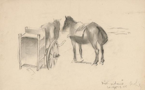 Štefan Prohászka-Tallós - Vypriahnuté kone
