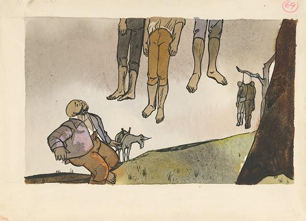 Vincent Hložník – Sancho Panza vidí obesencov