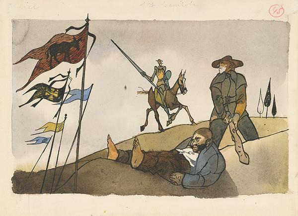 Vincent Hložník - Bitka s koruhvami