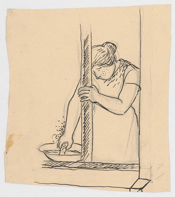 Štefan Bednár – Umývanie okna