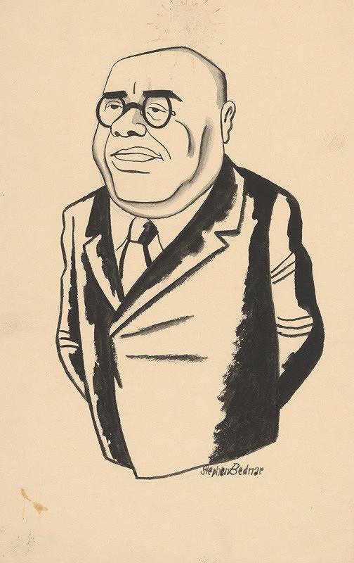 Štefan Bednár - Karikatúra muža