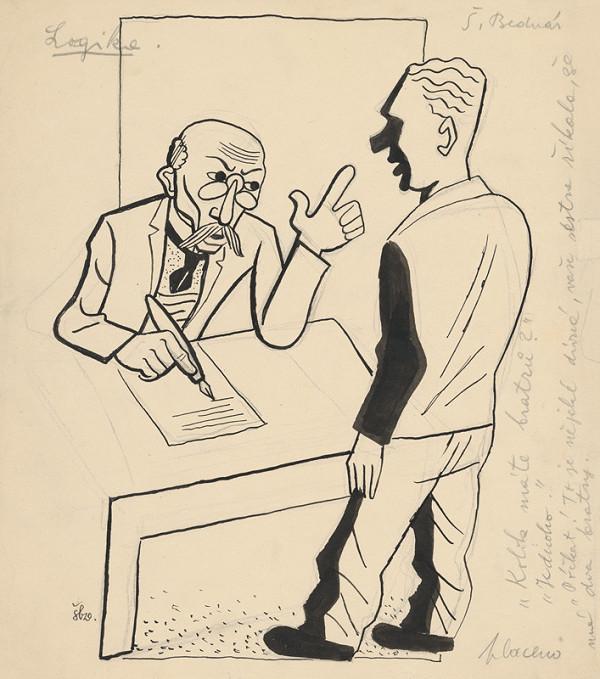 Štefan Bednár - Logika 1929