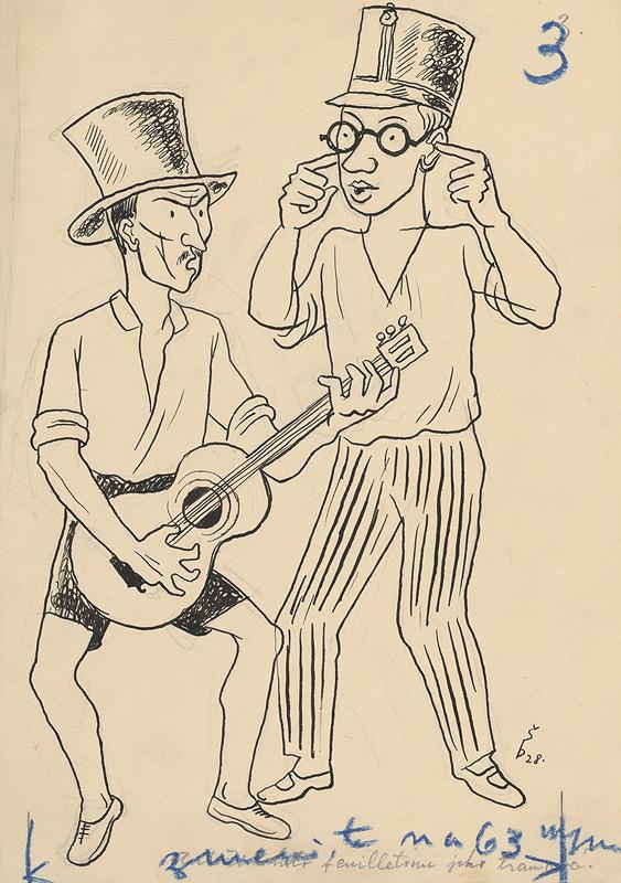 Štefan Bednár - Gitarista-1928