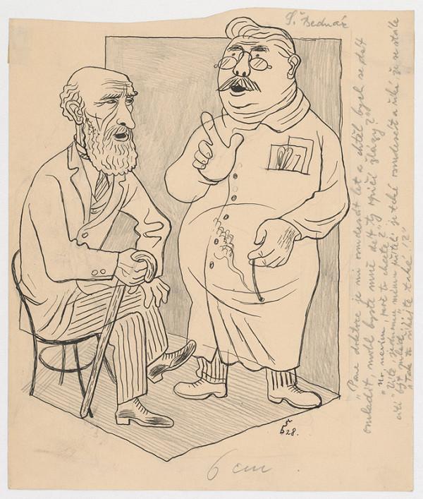 Štefan Bednár - U lekára - 1928