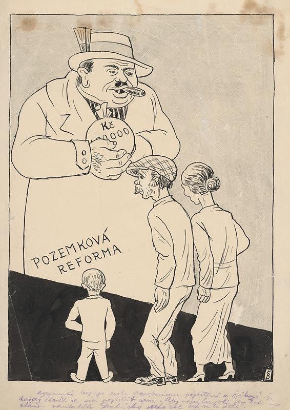 Štefan Bednár – Pozemková reforma