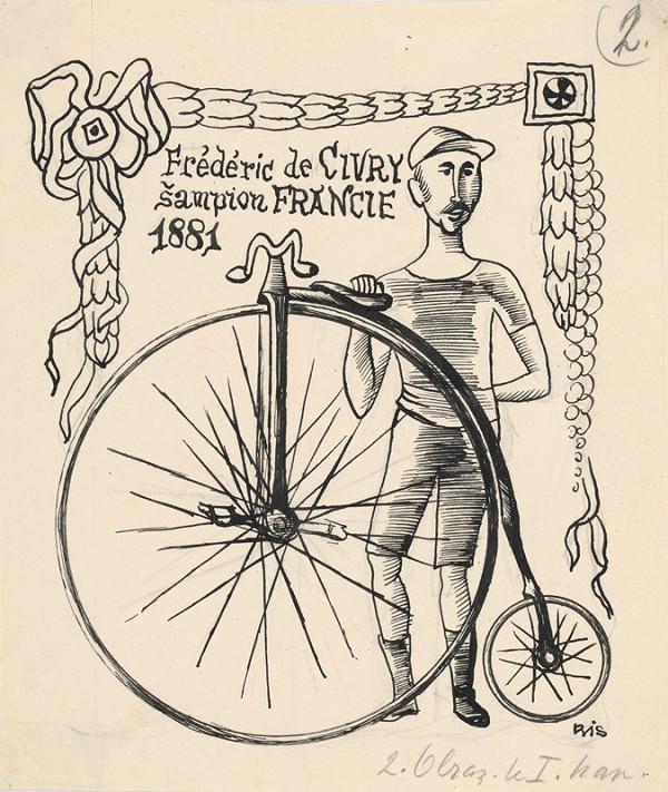 Štefan Bednár - Bicyklista Fréderic de Civry