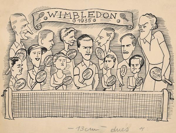 Štefan Bednár - Wimbledon - 1935