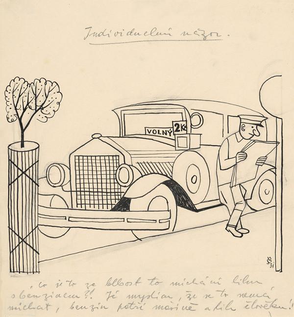 Štefan Bednár – Taxikár - 1931