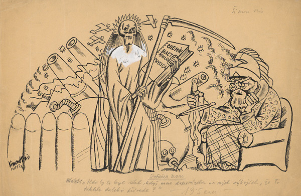 Štefan Bednár – Mars a smrť - 1934