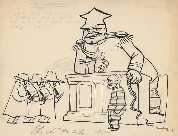 Štefan Bednár – Poľský mučeník - 1935
