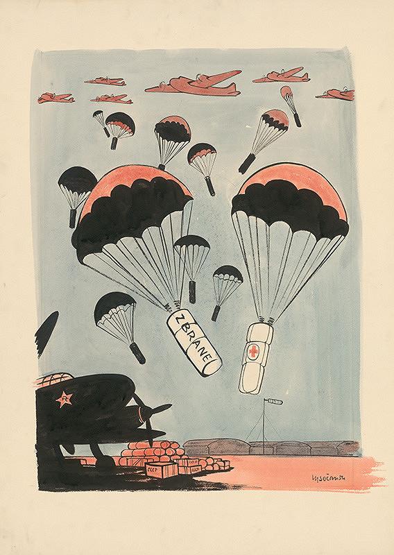 Imrich Vysočan – Pomoc SSSR