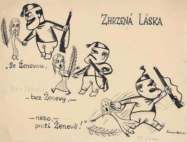Štefan Bednár - Zhrzená láska - 1935