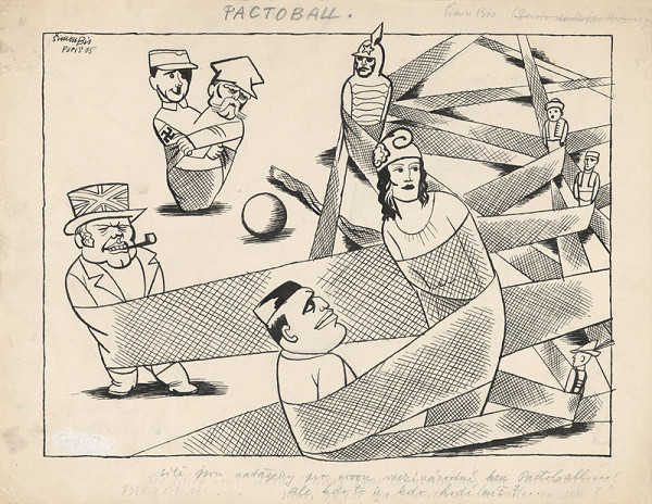Štefan Bednár - Pactoball - 1935