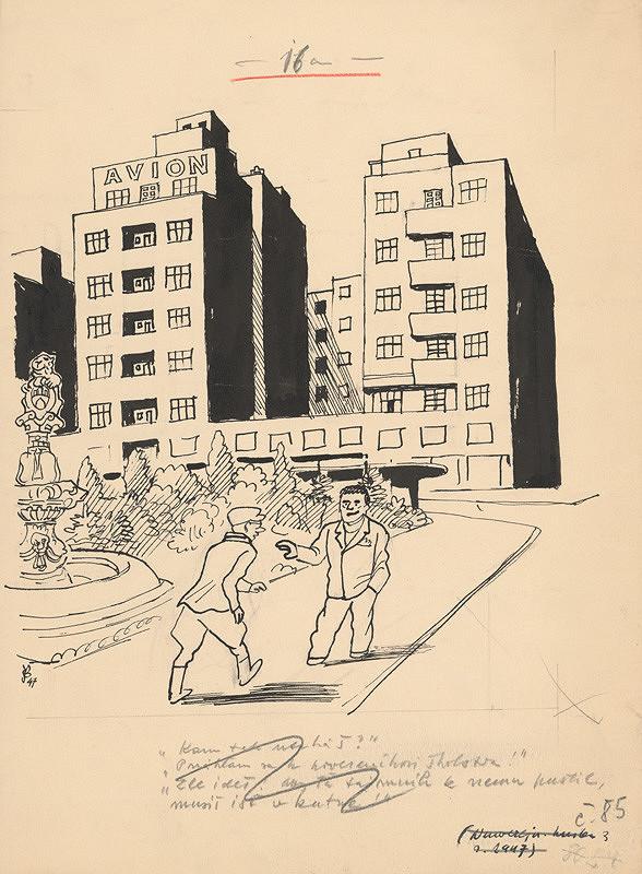 Štefan Bednár - Stretnutie - 1947