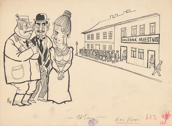 Štefan Bednár - Voľby - 1948