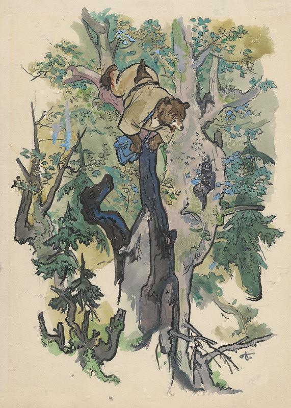 Jaroslav Vodrážka – Na strome