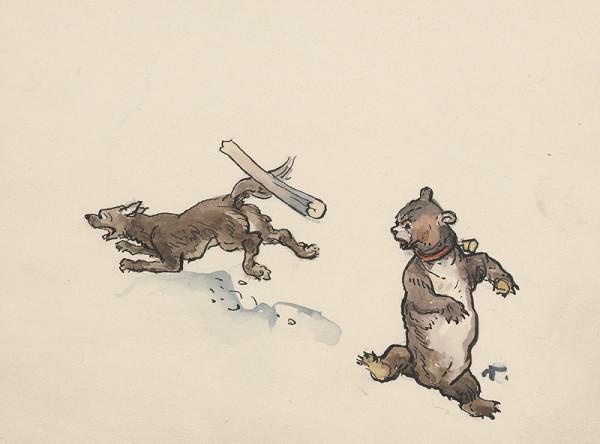 Jaroslav Vodrážka – Pes a medvedík
