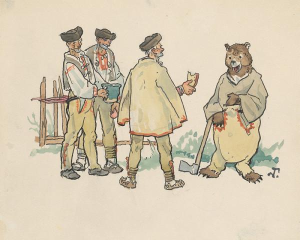 Jaroslav Vodrážka - Bačovia a medveď