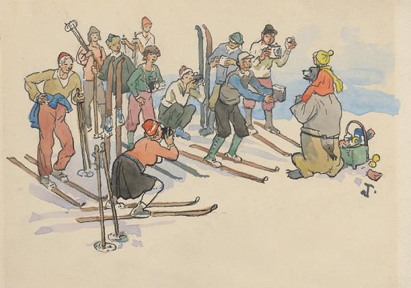 Jaroslav Vodrážka - Macko s lyžiarmi
