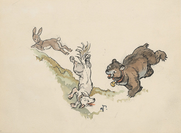 Jaroslav Vodrážka – Hon na zajaca