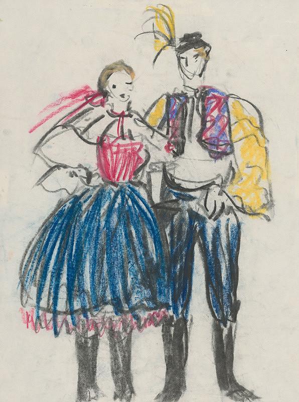 Sibylla Greinerová - Párový tanec
