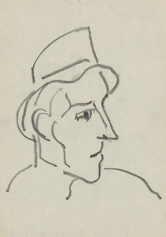 Miloš Alexander Bazovský – Muž s klobúkom