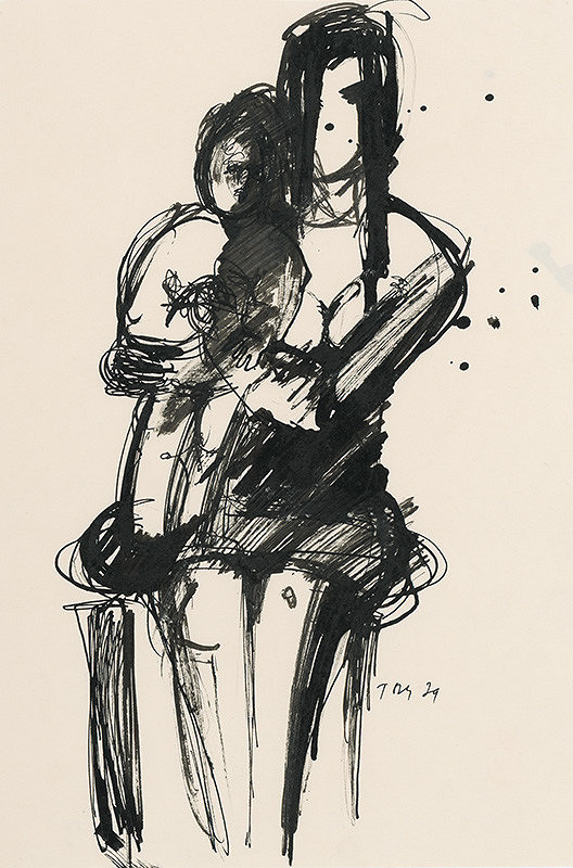 Pavol Tóth – Matka s dieťaťom I.