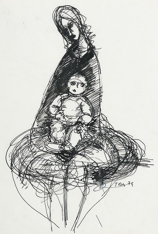 Pavol Tóth – Matka s dieťaťom IV.