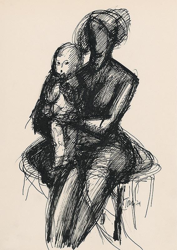 Pavol Tóth – Matka s dieťaťom V.